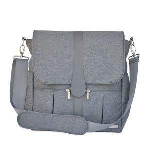 JJ Cole diaper backpack in Grey